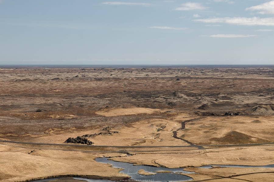 paysages d'islande sur la côte sud