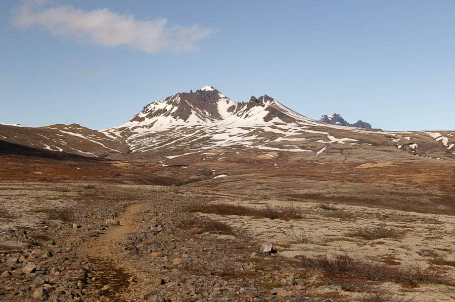 Randonnée dans le Skaftafell en Islande