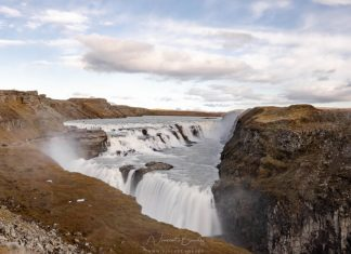voir Chutes gullfoss cercle d'or en Islande