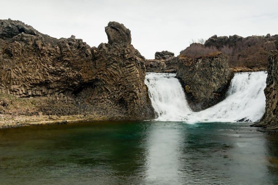 cascade Islande Hjálparfoss