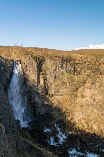 cascade Islande Hundafoss