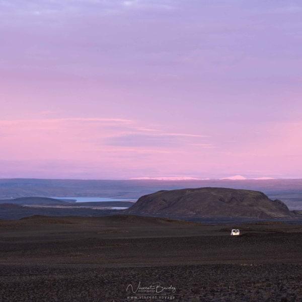 lever de soleil en Islande en voyage Blog