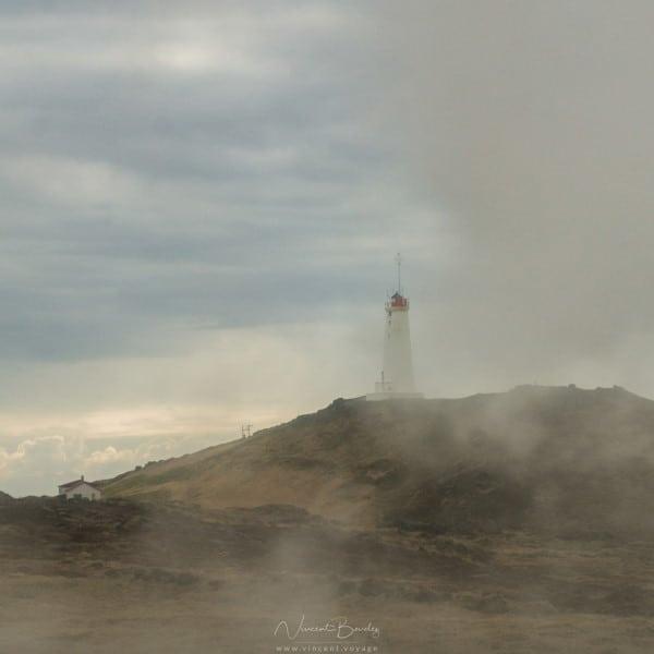 Phare péninsule de Reykjanes en Islande