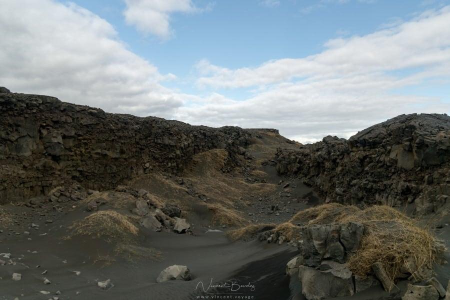 Pont entre deux continents Reykjanes en Islande