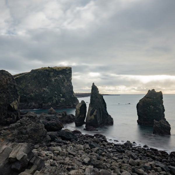 Cap peninsule Reykjanes en Islande