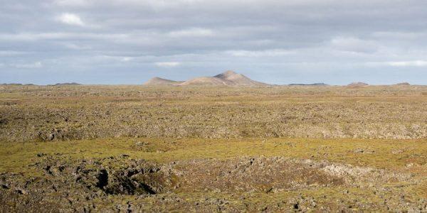 Paysages péninsule de Reykjanes en Islande