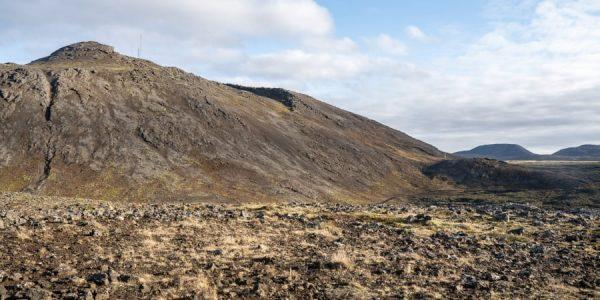 Les volcans de la péninsule de Reykjanes en Islande