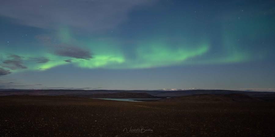 aurores boreales fjallabak highlands islande | blog vincent voyage