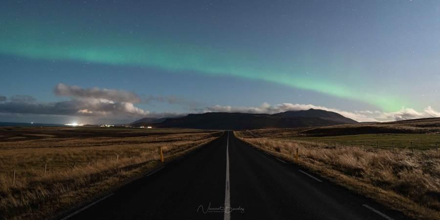 aurores boreales islande westfjords | blog vincent voyage