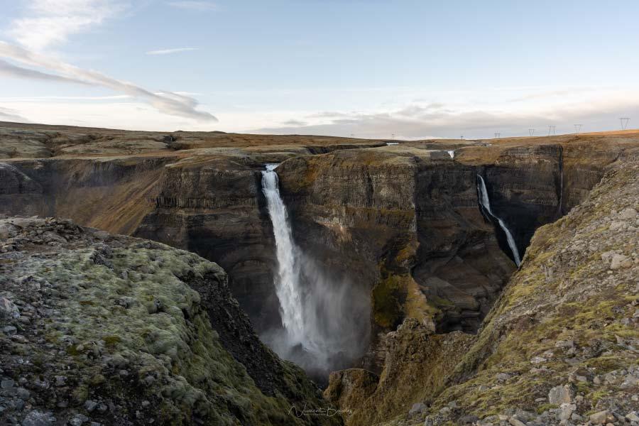 cascade Haifoss Islande blog vincent voyage