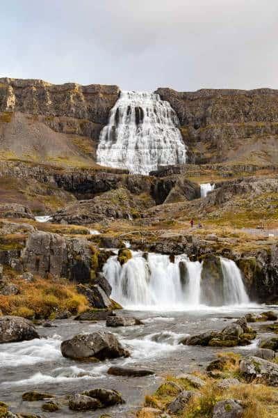 cascade dynjandi islande westfjords | blog vincent voyage