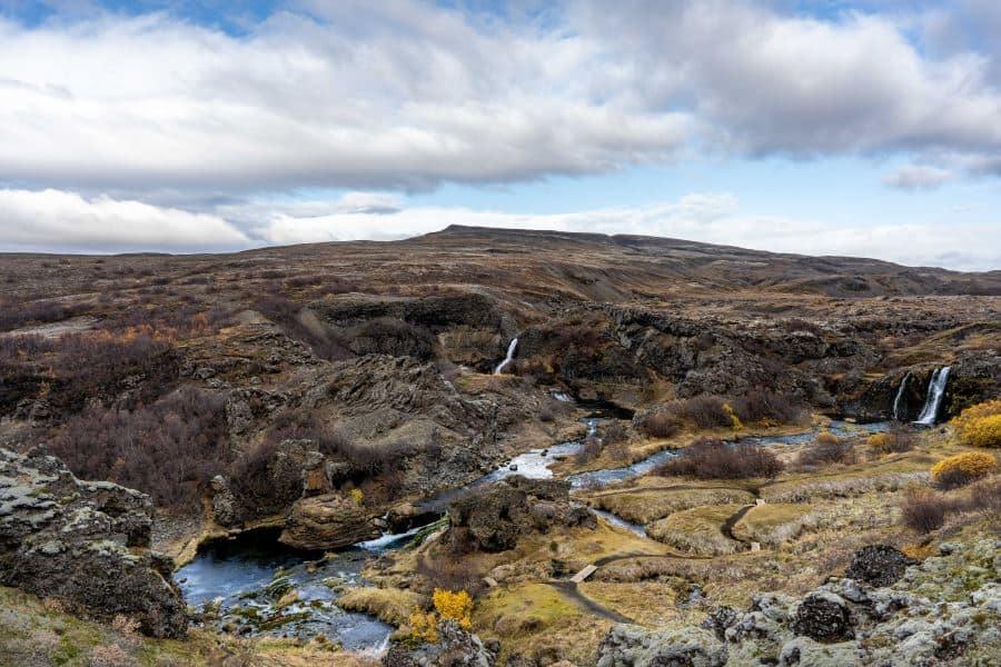 voir gjain voiture cascades islande | blog vincent voyage