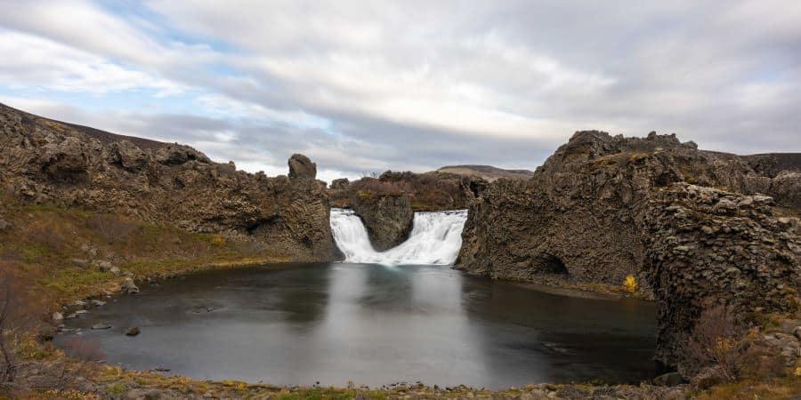 hjalparfoss automne cascade islande | blog vincent voyage