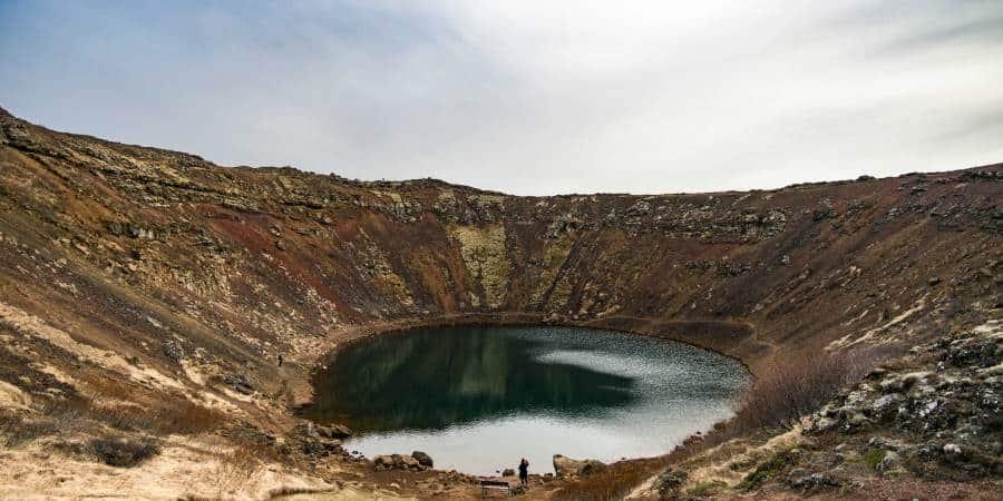 visiter kerid volcan islande | blog vincent voyage
