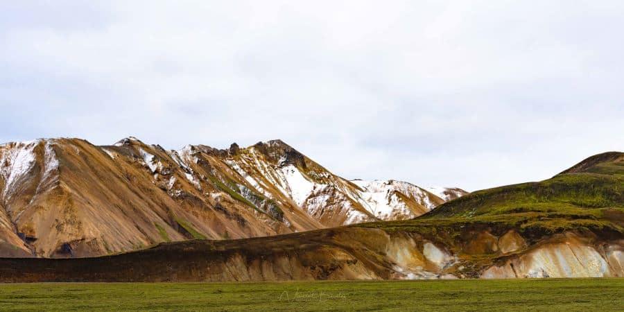 montagnes landmannalaugar islande fjallabak voir | blog vincent voyage
