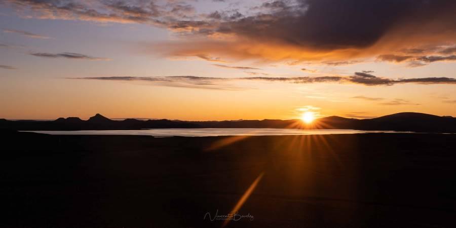 lever de soleil fjallabak landmannalaugar islande | blog vincent voyage
