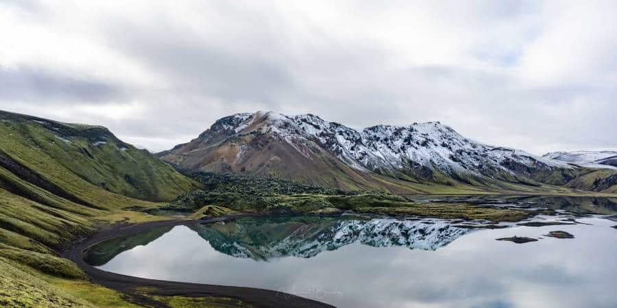 montagnes fjallabak lac landmannalaugar islande