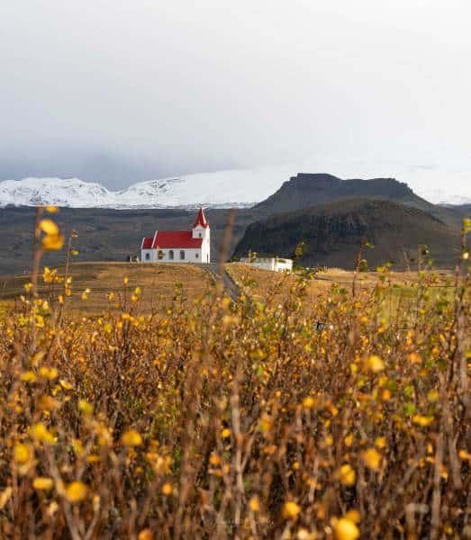 snaefellsnes eglise islande automne | blog vincent voyage