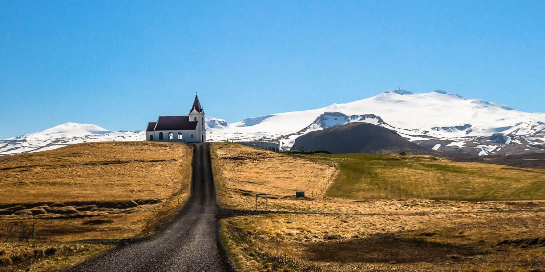 snaefellsnes islande eglise