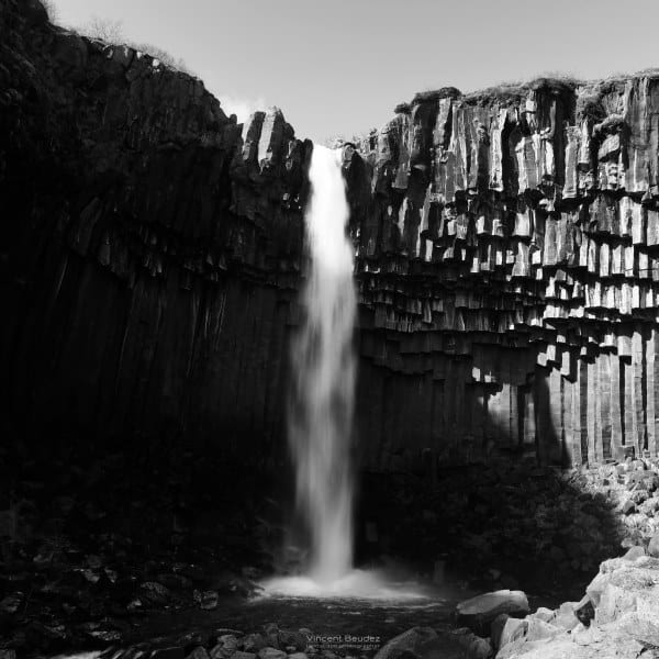 cascade Islande svartifoss