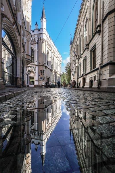 Riga vieille ville découvrir photo Lettonie architecture | Blog Vincent Voyage