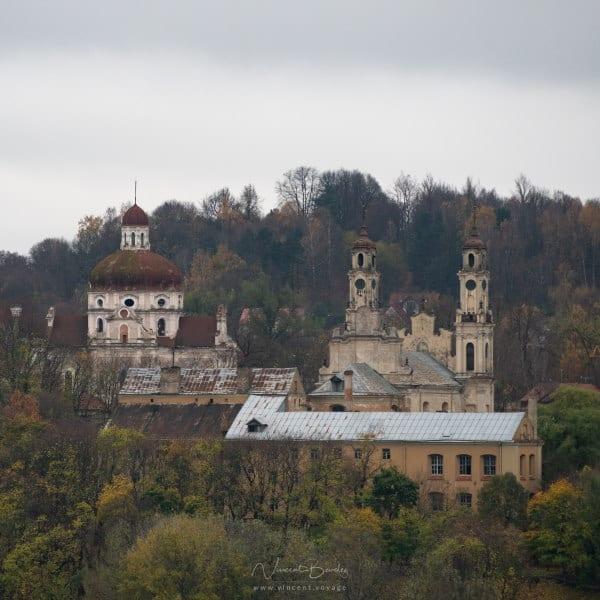 Vue de Vilnius en Lituanie