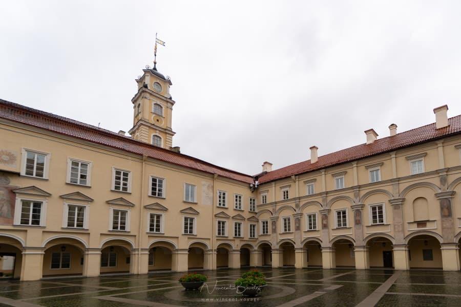 L'université de Vilnius en Lituanie