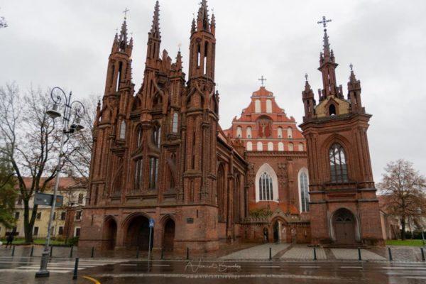 les églises de Vilnius en Lituanie
