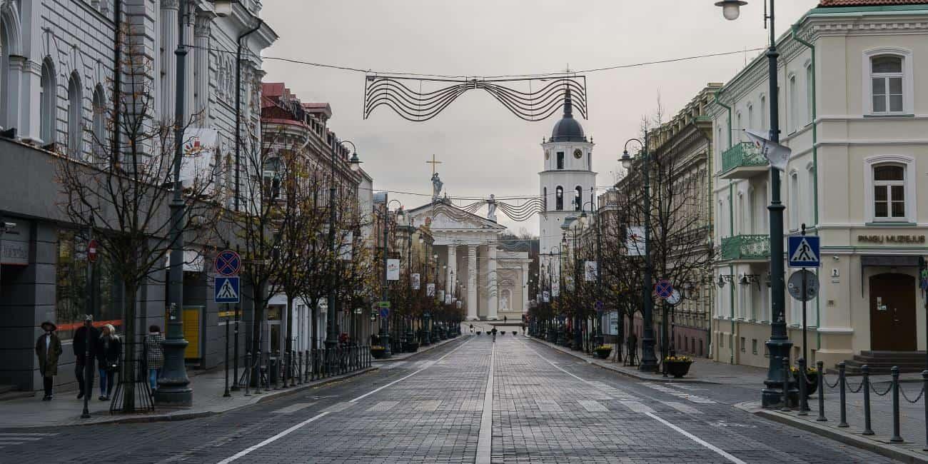 lituanie vilnius streets