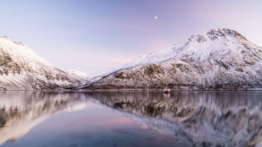 Torsken Senja Norvege coucher de soleil sunset fjord | Blog Vincent Voyage