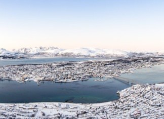 visiter tromso vue sur la ville Norvège | Blog Vincent Voyage