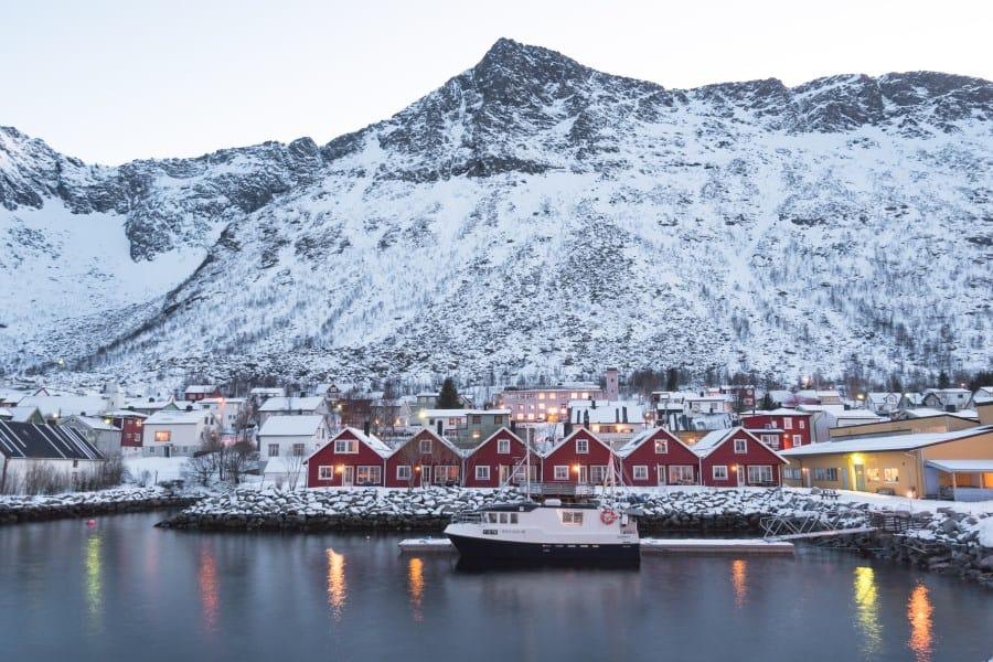 gryllefjord norvege senja village | blog vincent voyage