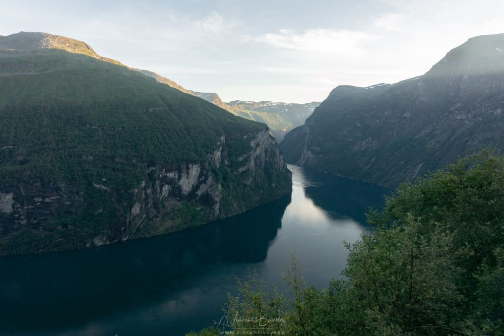 Fjord Geiranger en Norvège