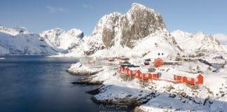 hamnoy en hiver les plus beaux villages des iles Lofoten