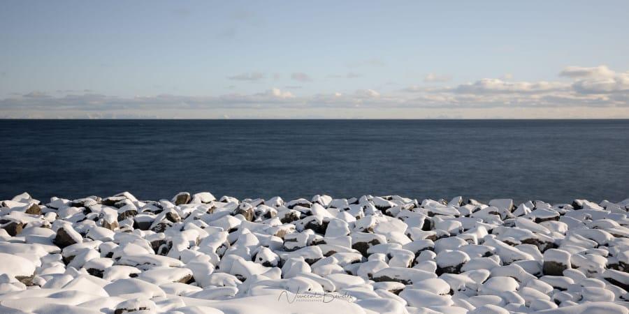 plage iles Lofoten en Norvège