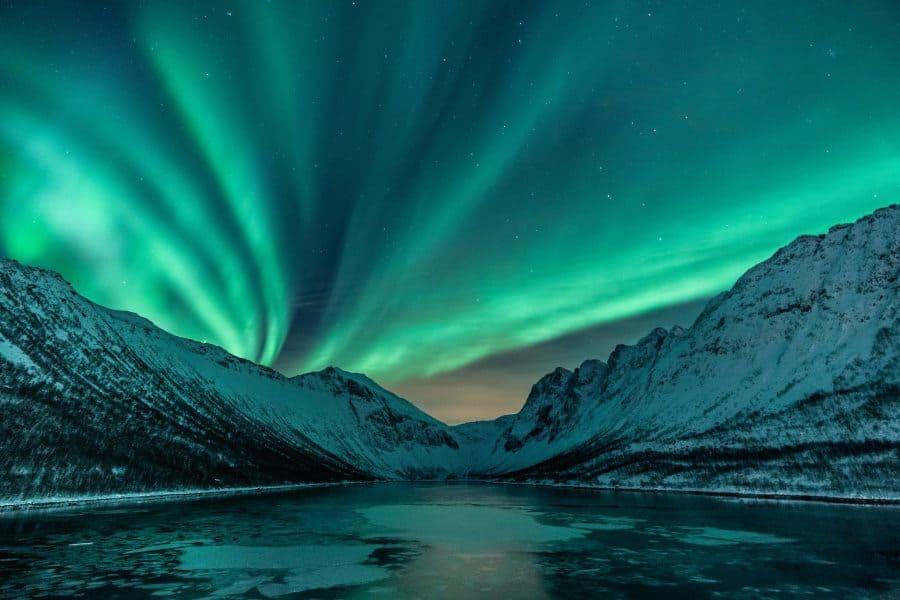gryllefjord norvege senja aurores boreales | blog vincent voyage