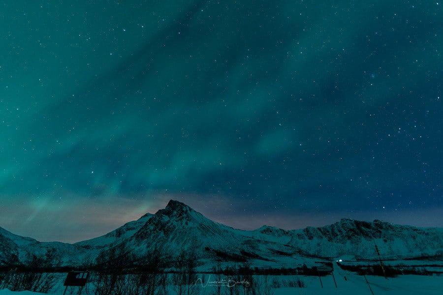 observer aurores boréales Senja norvege blog vincent voyage