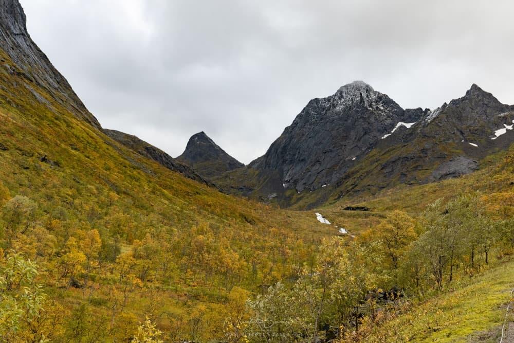 Montagnes Senja Bergsbotn