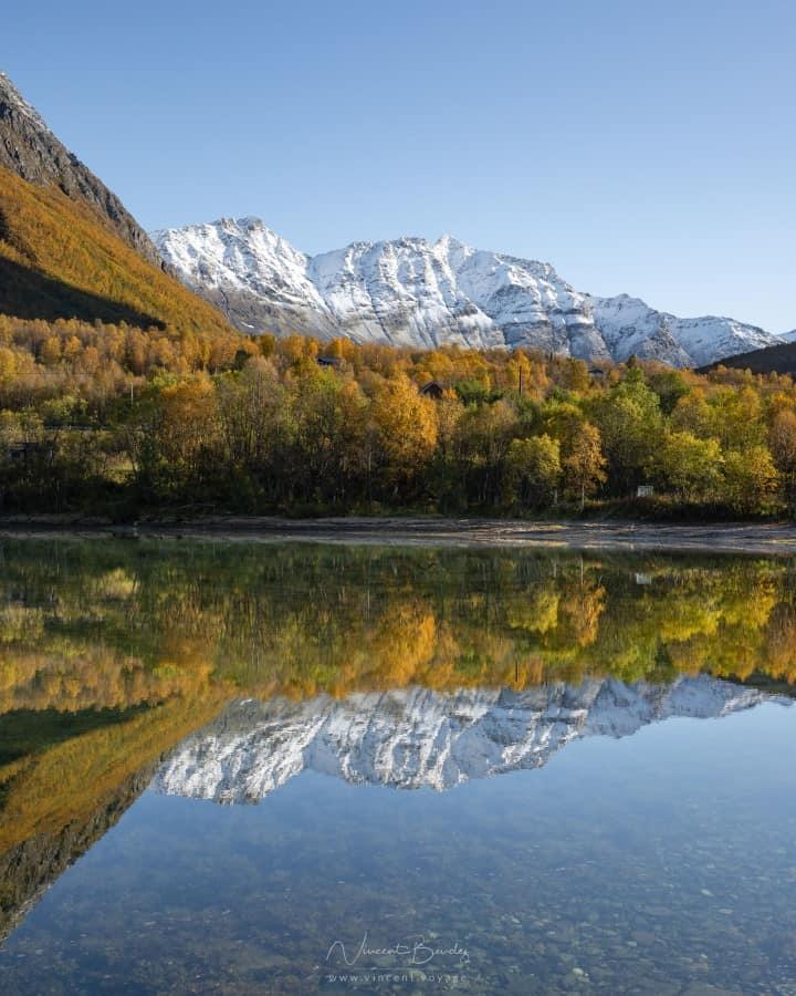 Route vallée Tromso