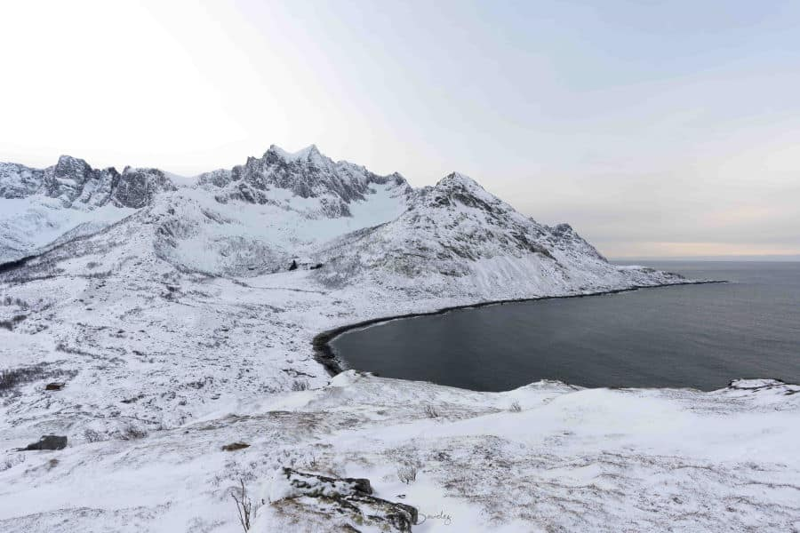 colline mefjordvaer aurores boreales senja blog vincent voyage