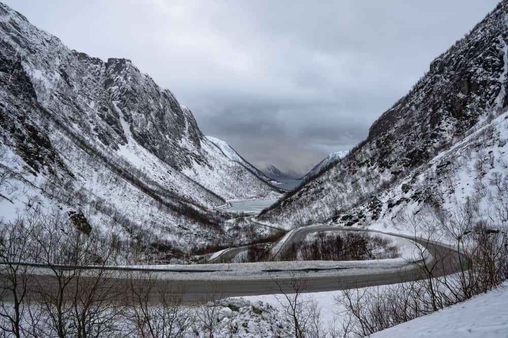 Sifjord ile de Senja Norvège