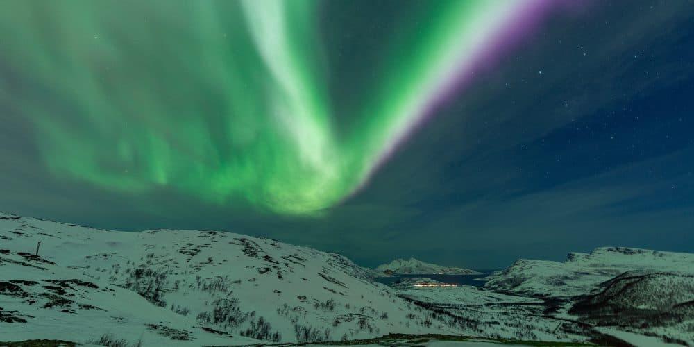 aurores boreales tromso skulsfjord en Norvège | Blog Vincent Voyage