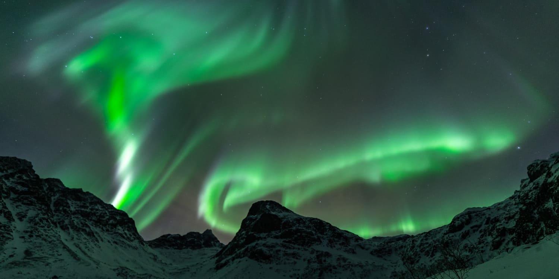 Aurores Boréales Tromso Grotfjord en Norvège | Blog Vincent Voyage