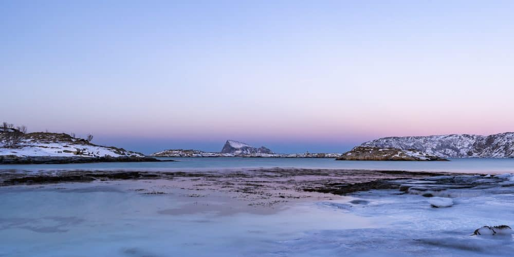 route sommaroy kvaloya coucher de soleil tromso | blog vincent voyage
