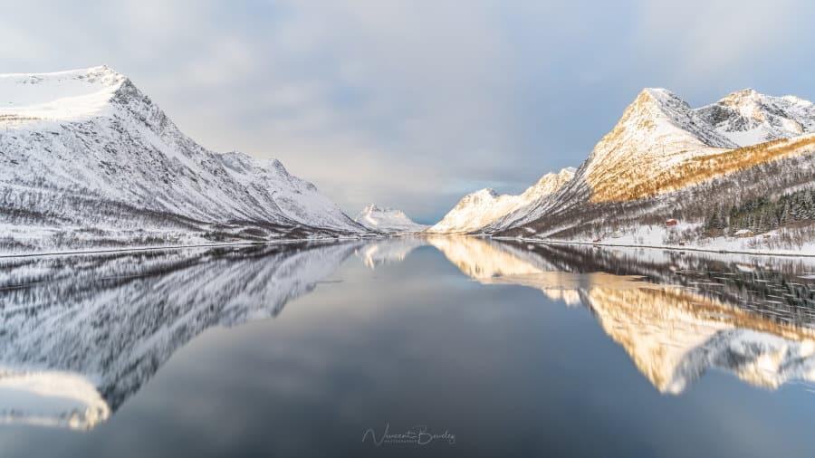 gryllefjord senja reflexion norvege blog vincent voyage