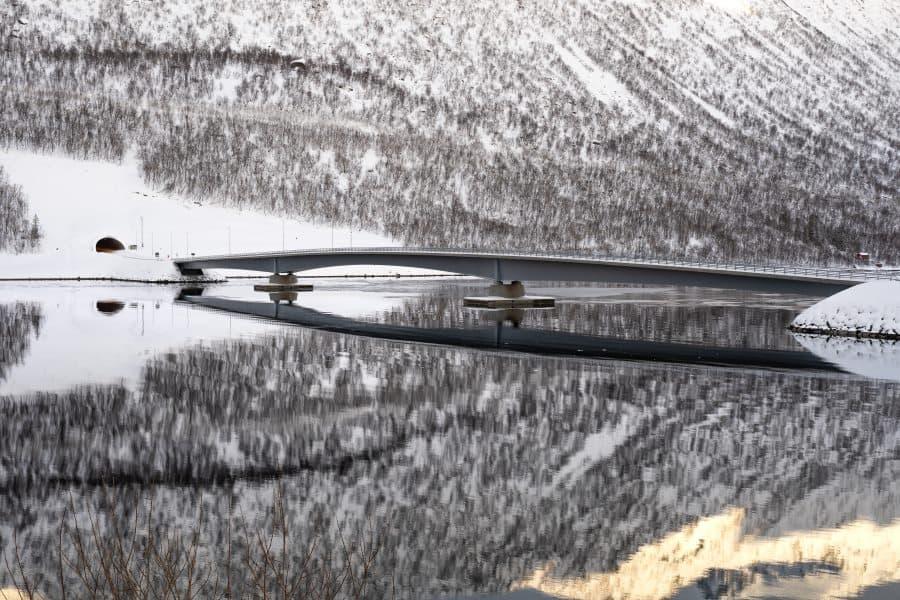 gryllefjord norvege senja pont | blog vincent voyage