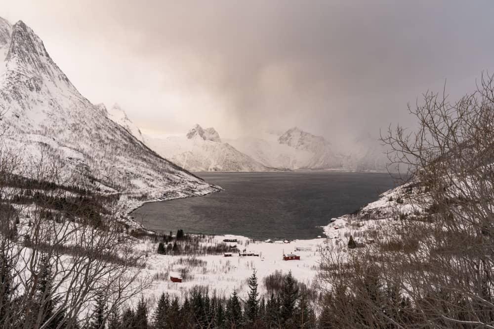 FJord Mefjordbotn Senja Norvege