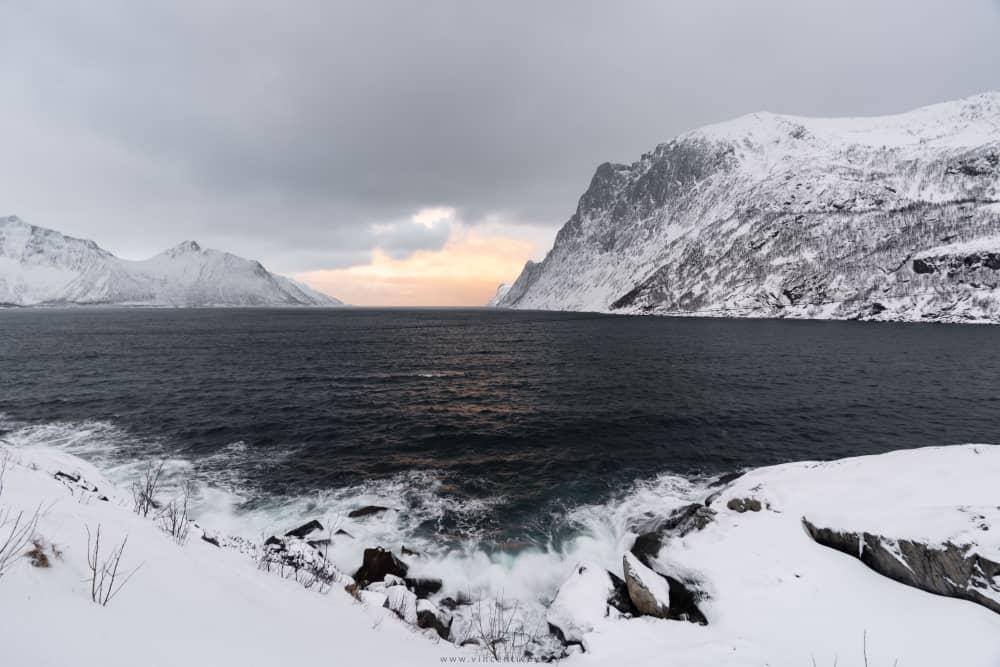 Route Mefjordbotn Senja
