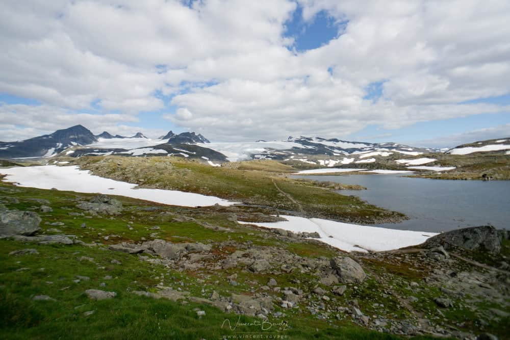 Route du Sognefjell en Norvège