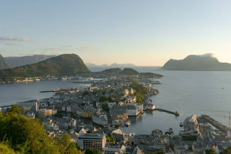 Alesund en Norvège
